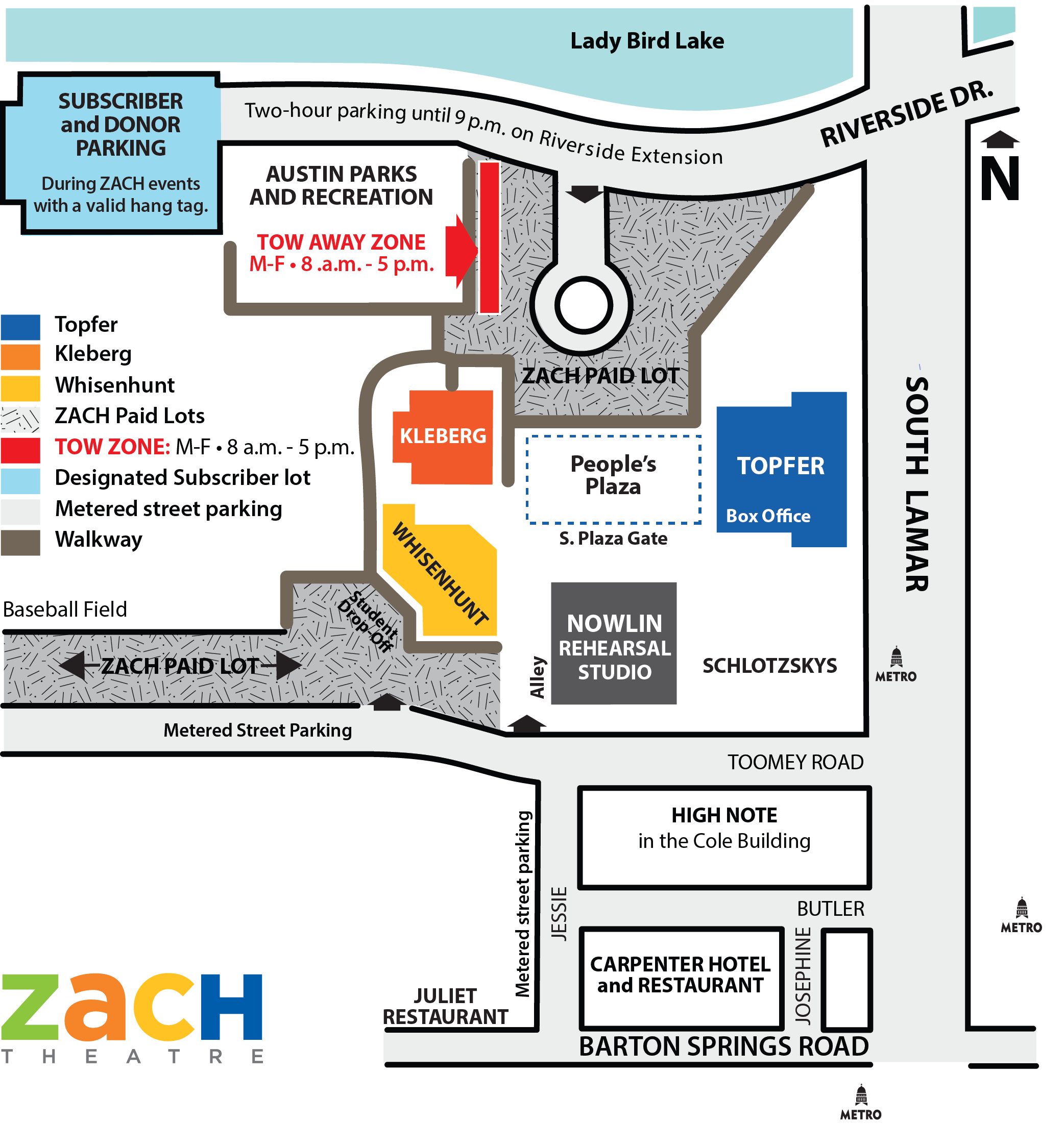 ZACH Campus Map